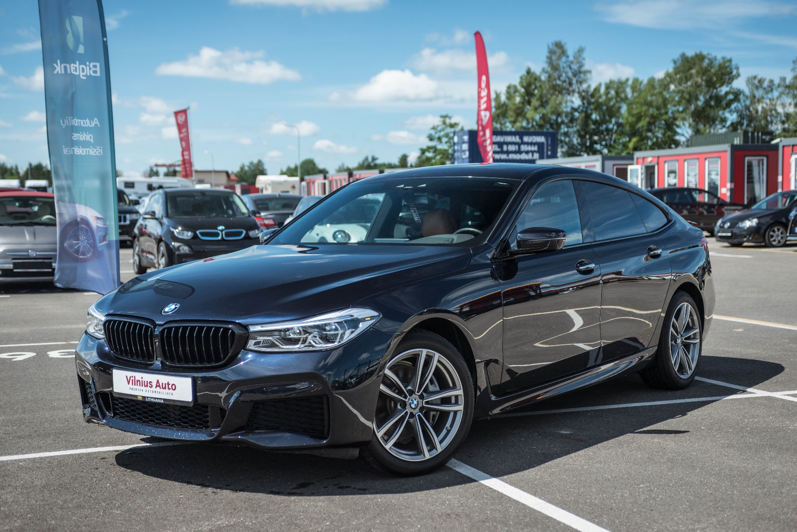 BMW 6 klasė Gran Turismo, 2018